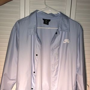 Nike SB Shield Hydrogen Blue Coaches Jacket
